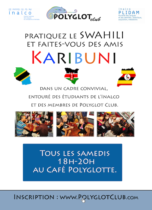 Café linguistique en swahili