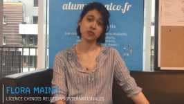 Portrait d'alumni : Flora Maino, data analyste